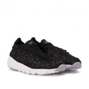 875797 NIKE AIR FOOTSCAPE 003 NM Noir WOVEN Modèle Baskets EYqvx5dwq