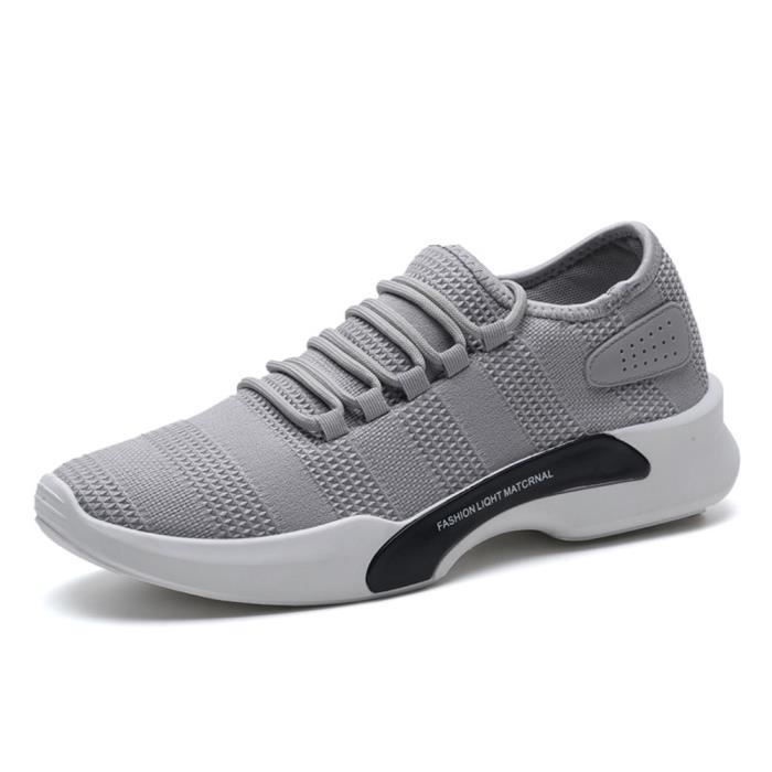 Comfortable Ultra Occasionnelles Chaussure XZ011Gris 44 WYS Homme Basket 54q7EE