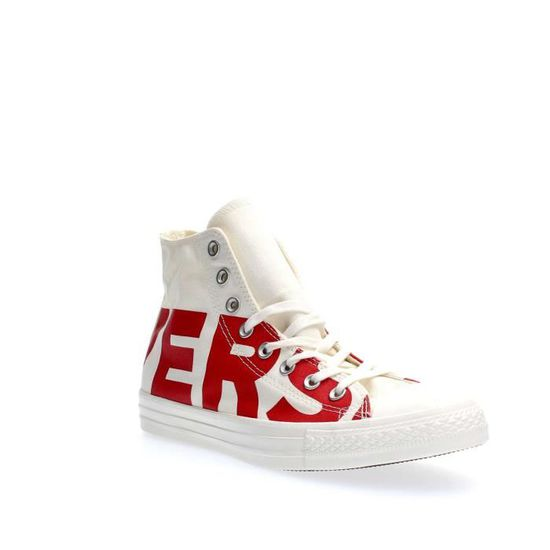 CONVERSE SNEAKERS  Unisexe WHITE RED, 41  SNEAKERS White red - Achat / Vente basket 28c90f