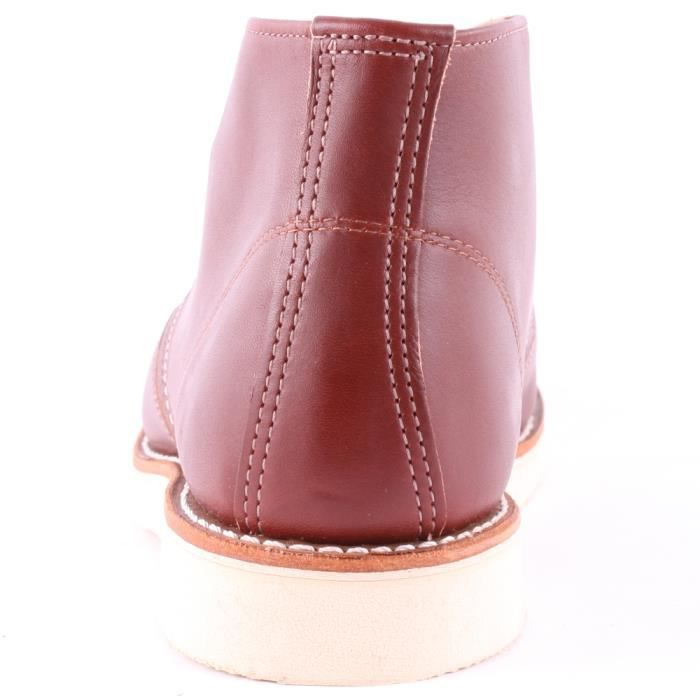 Red Wing 3139 Classic Hommes Bottes chukka Dark Red - 9 UK