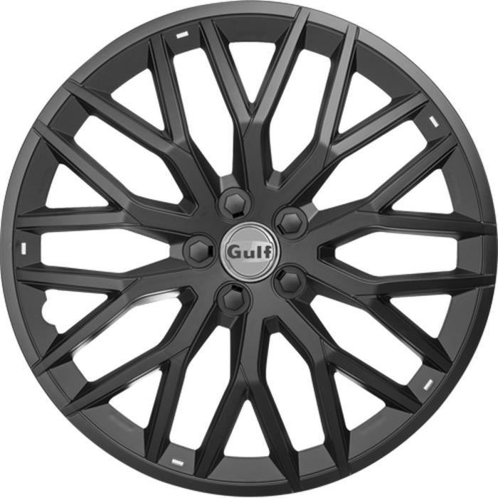 GULF GT40 4 Enjoliveurs 13 Pouces Noir