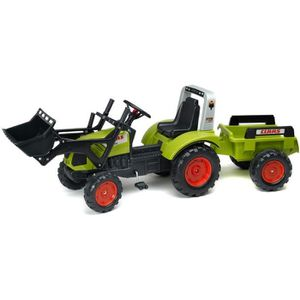 10 sur falk tracteur p dales vert claas avec remorque vendu par 263063. Black Bedroom Furniture Sets. Home Design Ideas