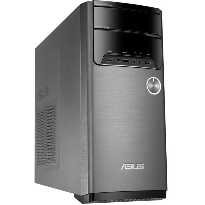 ASUS PC de Bureau Gamer M32CD-K-FR040T - 8Go de RAM - Windows 10 - Intel® Core™ i5-7400 - GeForce GTX1060 - Stockage 1To -sans écran