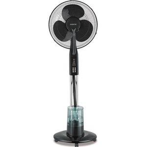OCEANIC Ventilateur brumisateur sur pied - 85 watts - Ø : 40 cm - Oscillation - Télécommande - Silencieux