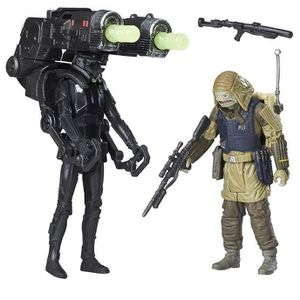 FIGURINE - PERSONNAGE STAR WARS Rogue One - REBEL COMMANDO PAO & IMPERIA
