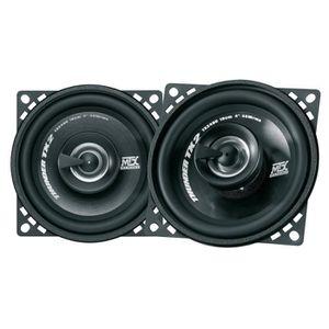 INSTALLATION AUTORADIO MTX Haut-parleur Coaxial 2 Voies TX240C Ø10 cm 45