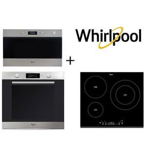 FOUR WHIRLPOOL AKZM740IX four + ACM860BF-Table de cuiss