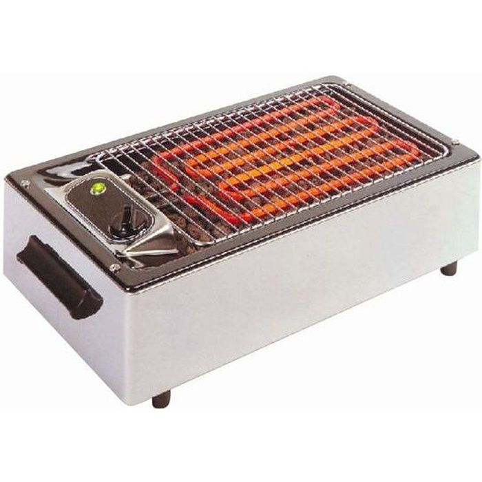 Barbecue electrique facile a nettoyer for Nettoyer grille barbecue rouillee