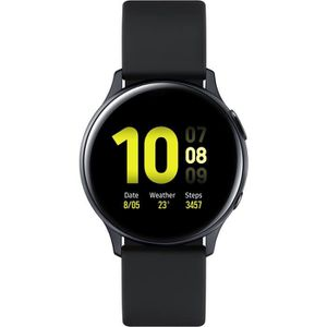 MONTRE CONNECTÉE Samsung Galaxy Watch Active 2 40mm Aluminium, Noir