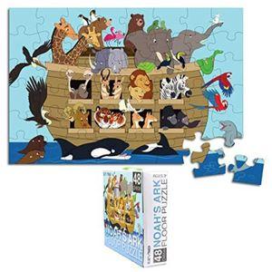 CASSE-TÊTE Casse-Tete ECU9R puzzle de sol pour - noah's ark -