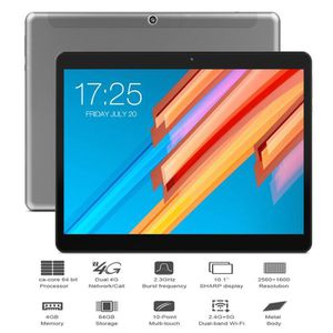 TABLETTE TACTILE Teclast M20 base Android 8.0 4 Go de RAM 64GB ROM