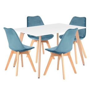 TABLE À MANGER SEULE Table à manger 2 à 4 personnes - Style Moderne - L