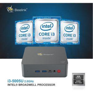 UNITÉ CENTRALE  Beelink U55 Mini PC - Windows 10 - RAM 8 Go + 256