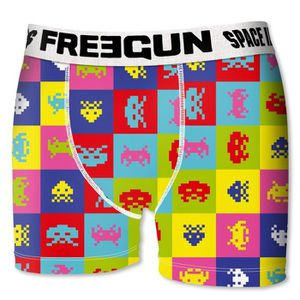 BOXER - SHORTY FREEGUN Boxer Homme Pop Space Invaders