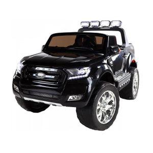 VOITURE ELECTRIQUE ENFANT EROAD - Ford Ranger Noir 4X4 Noir 2 places - 12V -