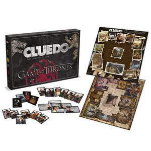 JEU SOCIÉTÉ - PLATEAU Game of Thrones Cluedo Mystery Board Game X Mas je