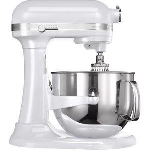 ROBOT DE CUISINE KitchenAid 5KSM7580X, 6,9 L, Blanc, Acier inoxydab