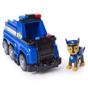 FIGURINE - PERSONNAGE PAT PATROUILLE Véhicule Camion de police de Chase