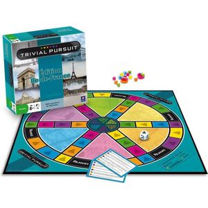 JEU SOCIÉTÉ - PLATEAU WINNING MOVES Trivial Pursuit Ile De France