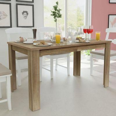 P68 Table De Salle A Manger 140 X 80 X 75 Cm Chene Achat Vente