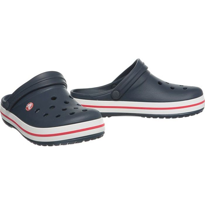 crocs sabots crocband homme marine achat vente crocs. Black Bedroom Furniture Sets. Home Design Ideas