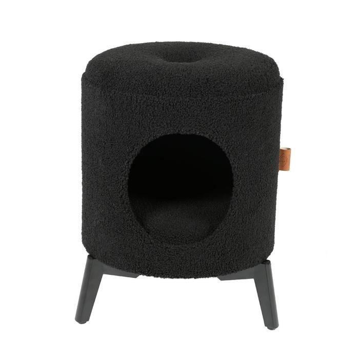 D&D Maison Jean - Noir - 35 x 35 x 48 cm - 3,75 kg - Pour chat