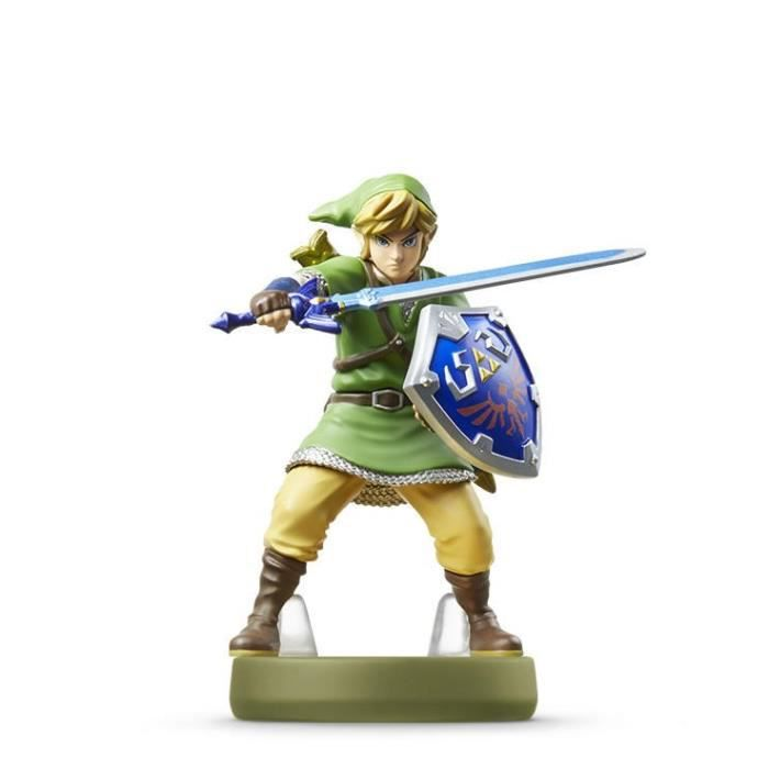 figurine amiibo link skyward sword the legend of zelda. Black Bedroom Furniture Sets. Home Design Ideas