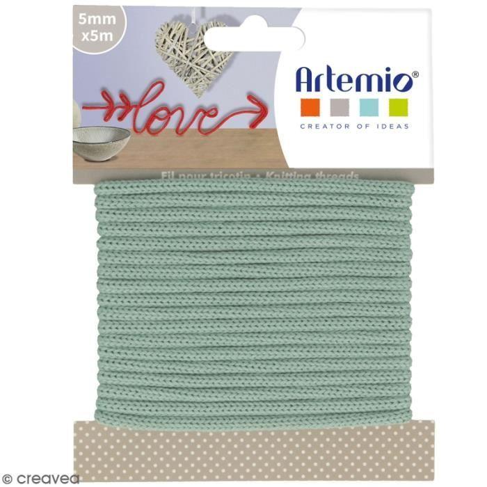 Fil de tricotin Artemio - Lichen - 5 mm x 5 m