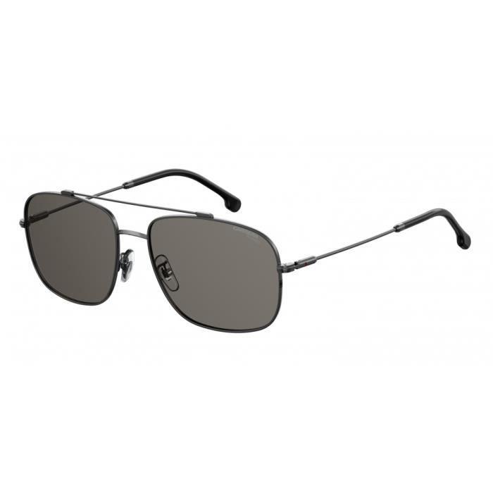 Carrera Eyewear lunettes de soleil navigator 182/F/S O63/QT polarisées hommes gris argent