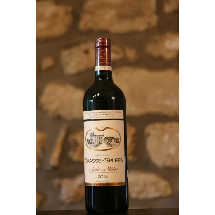 Vin rouge, Château Chasse Spleen 2014 Rouge