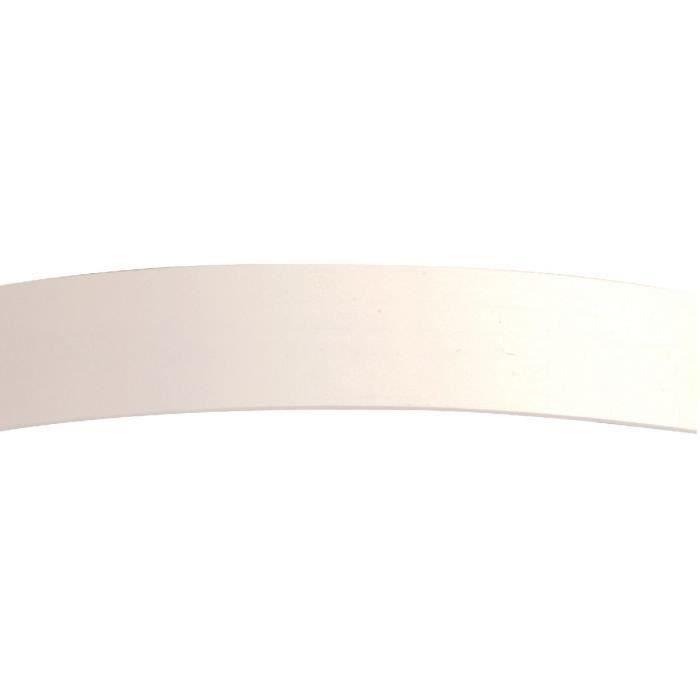 Outillage - Chant mélaminé blanc pré-encollé (Thermocollant - Mélafix.) 50m