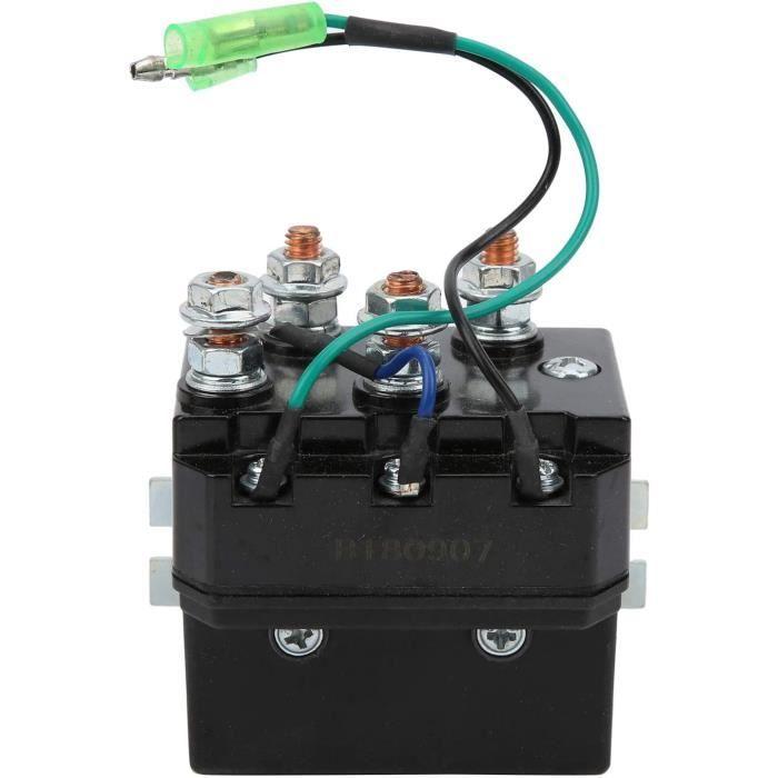 KIMISS Contacteur de solénoïde de treuil, relais de clignotant électronique ATV UTV LED pour 1500-5000lb81