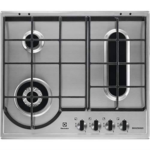Electrolux - Plaque à gaz EGH 6349 BOX finition inox 60 cm