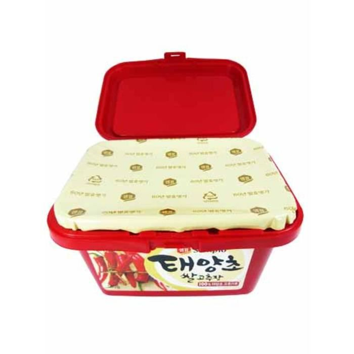 Pâte Piment Rouge Coréenne (Gochu Jang) Sempio 500G CR barquette 500g - 09062059.