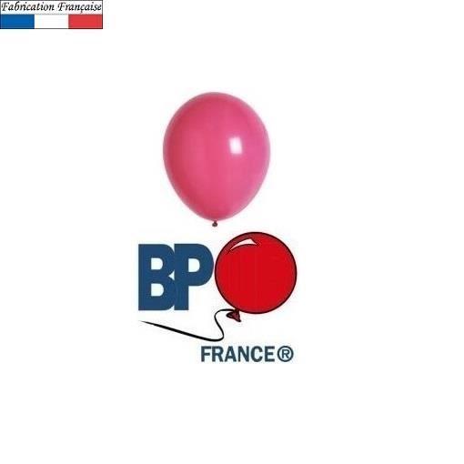 Ballon opaque rose bonbon 25cm (x10) REF/33526