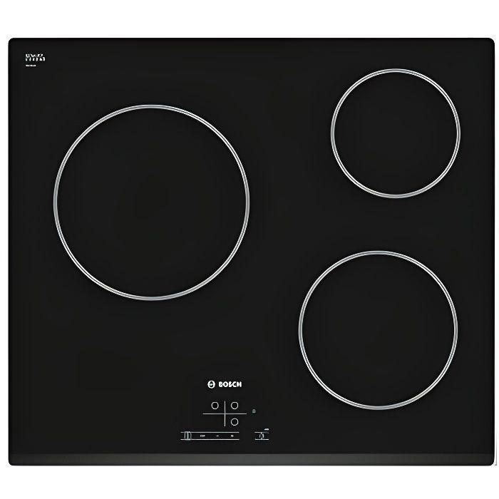 Table de cuisson vitro BOSCH PKM631B17E