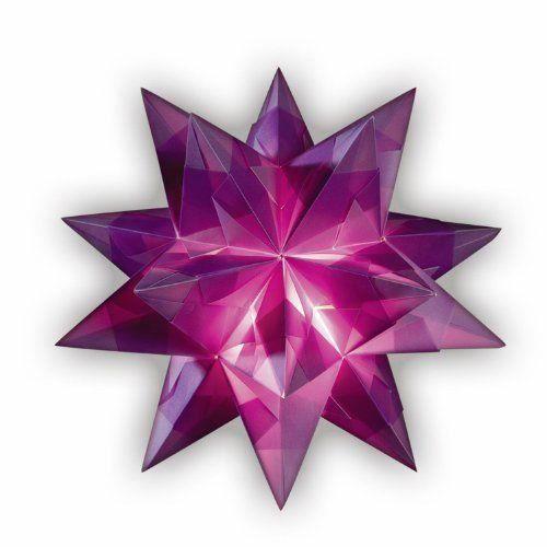 Folia Bringmann Lot Bascetta étoile Transparent 20 x 20 cm, 30 cm de diamètre - 860/2020