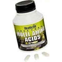 HealthAid Free Form Multi Amino Acids - 60 Tablets