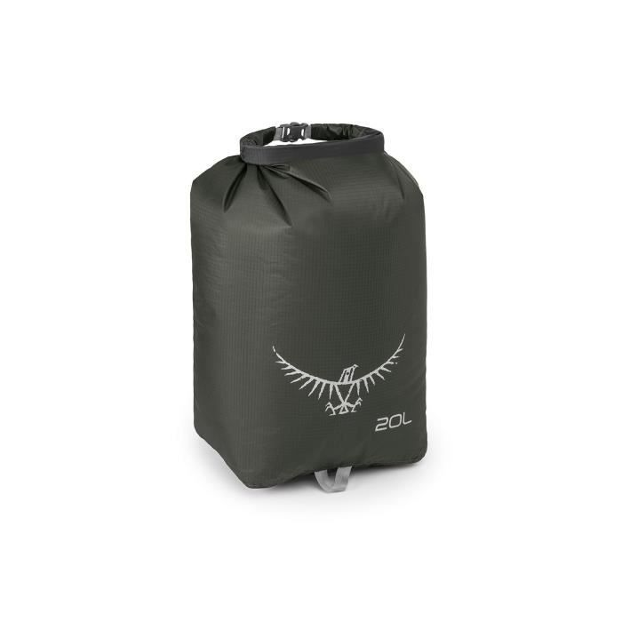 Sac étanche Ultralight Drysack 20L Shadow Grey