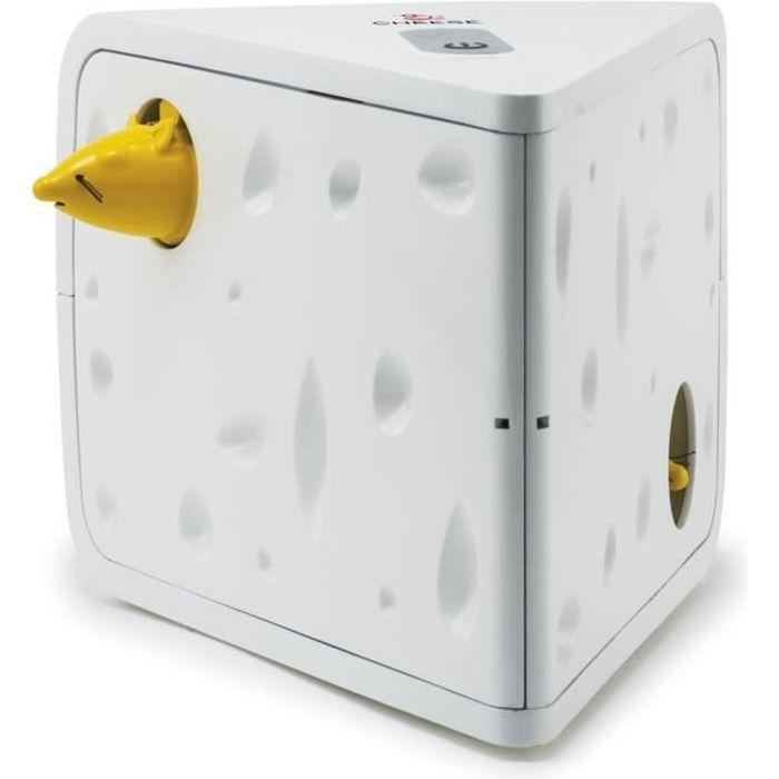 FroliCat Jouet automatique pour chat Cheese