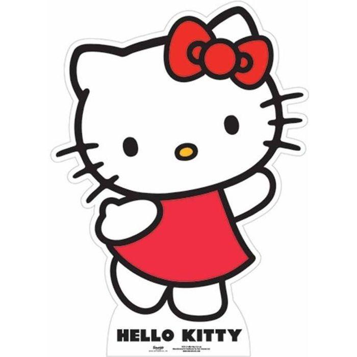 Figurine géante en carton Hello Kitty