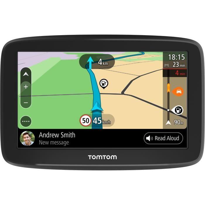 TomTom GO Basic 5'' - GPS auto 5 pouces, cartographie Europe 49, Wi-Fi intégré