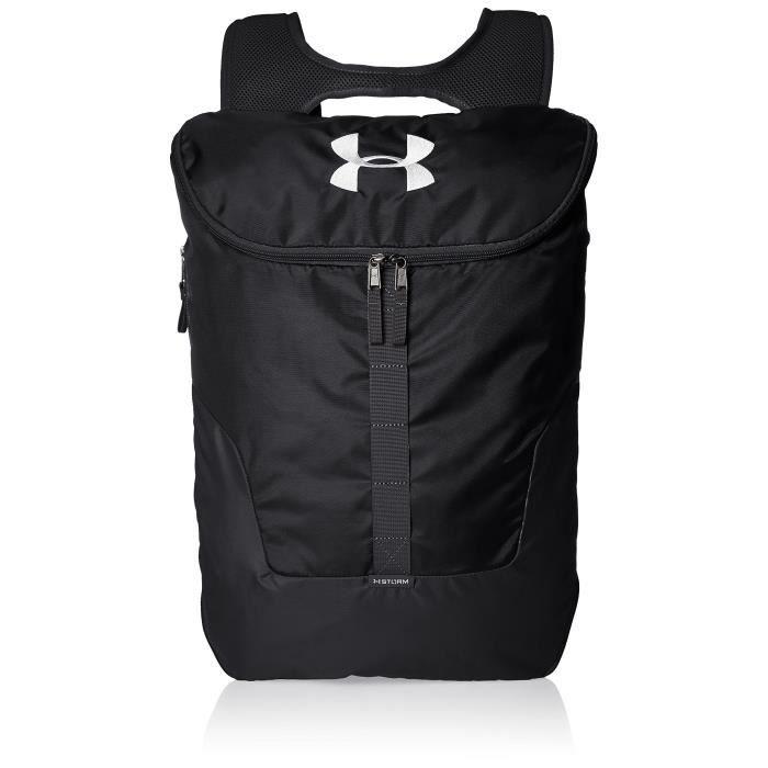 Under Armour Unisex UA Expandable Sackpack Backpack - Black, One size