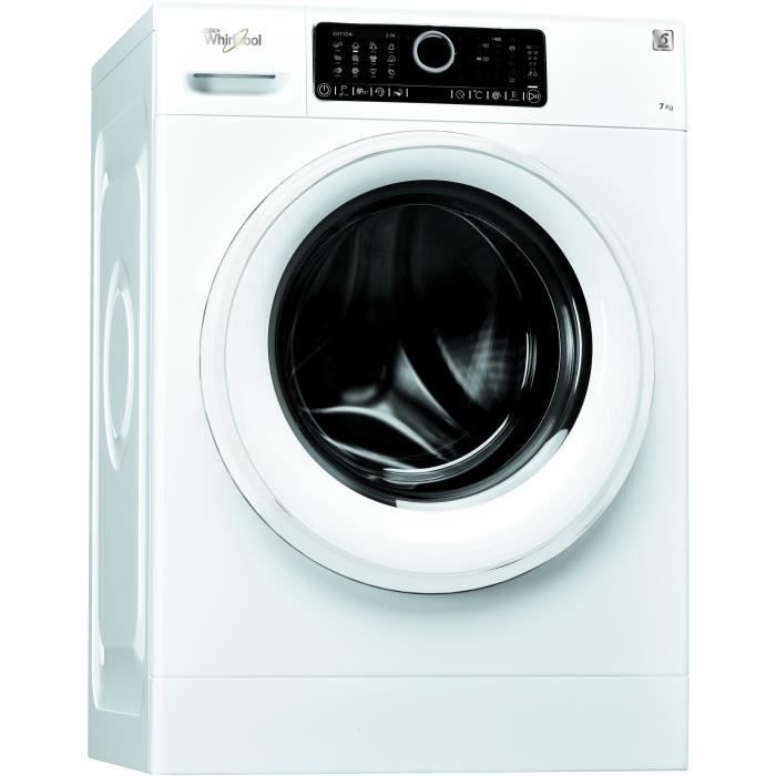 WHIRLPOOL FSC R70410 Lave linge frontal-7 kg-1400 trs / min A + + + Moteur induction SoftMove