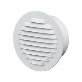 Grille d'aération ronde Ø150mm - Acier Blanc - Anti insecte - Winflex Ventilation 0,000000