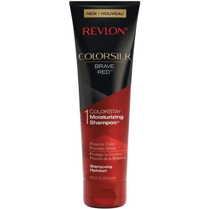 REVLON Shampoing hydratant Colorsilk - Brave Red - 250 ml