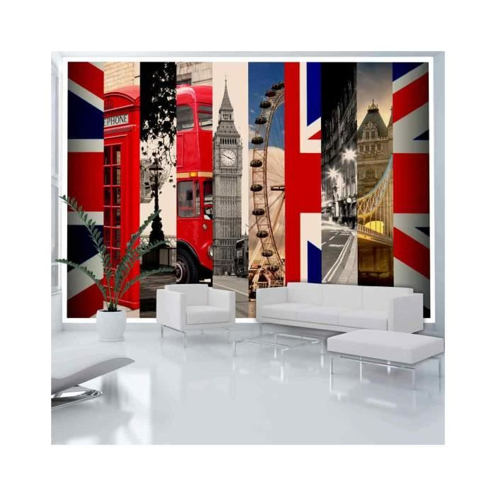papier peint london dimension 300x210 achat vente. Black Bedroom Furniture Sets. Home Design Ideas