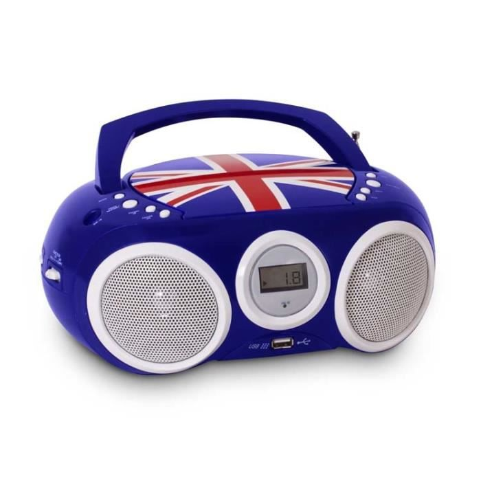 bigben interactive cd32 lecteur cd avec radio portable. Black Bedroom Furniture Sets. Home Design Ideas