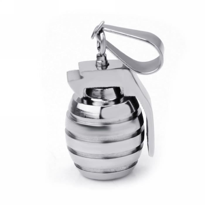 collier homme grenade