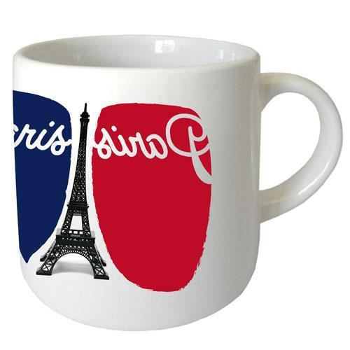 mug paris by cbk achat vente bol mug mazagran cdiscount. Black Bedroom Furniture Sets. Home Design Ideas